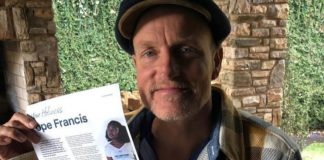 This Is Woody Harrelson's Vegan Plea to the Vatican