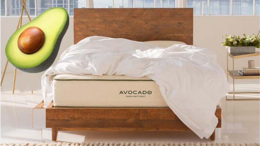 This Vegan Avocado Mattress Promises Better Sleep