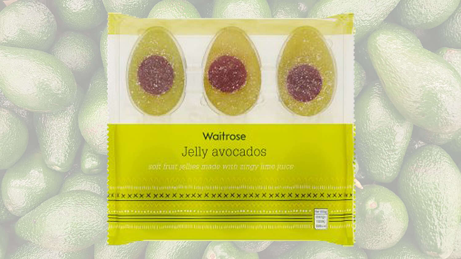 Vegan Avocado Jelly Sweets Have Arrived and They're Cute AF