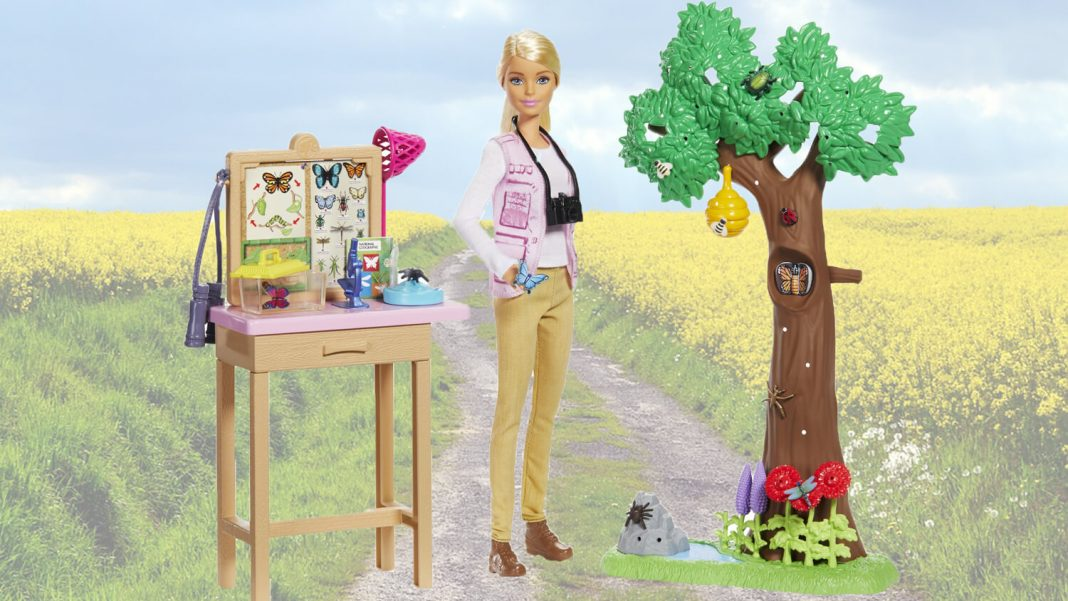 Of Course Barbie Is a Wildlife Conservationist Now