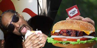 Snoop Dogg Serves Vegan Burgers at Grammys Party