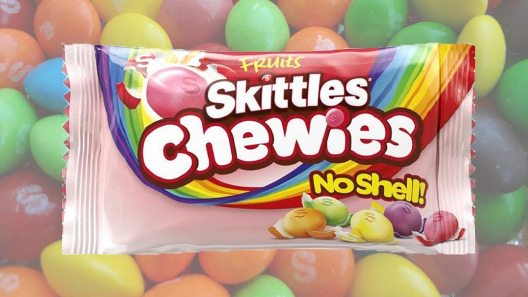 The New Skittles Are Completely Naked and Vegan
