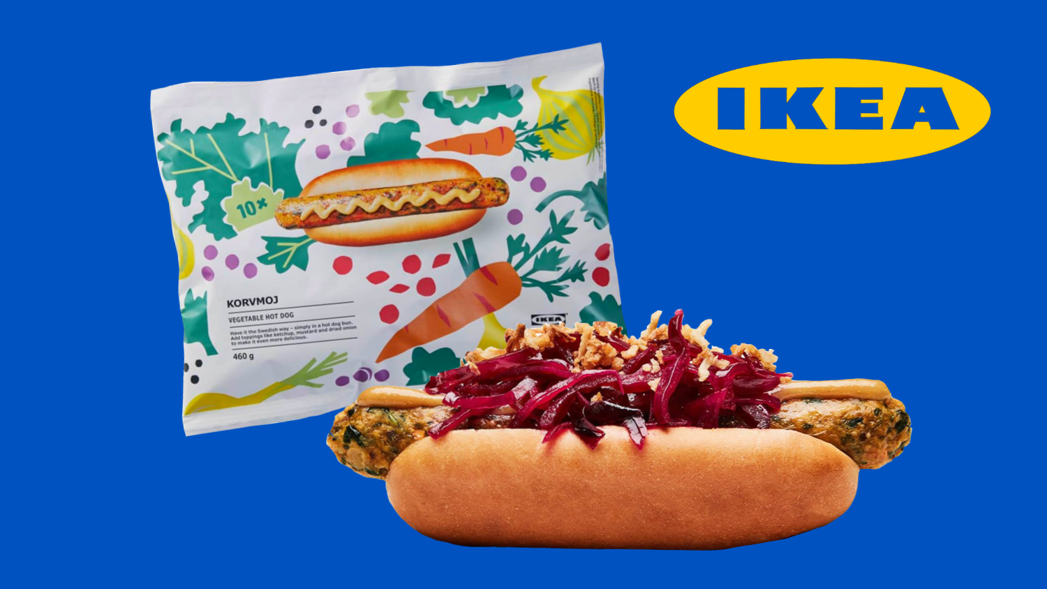 Hack Your Dinner With the New 10-Packs of IKEA Vegan Hot Dogs
