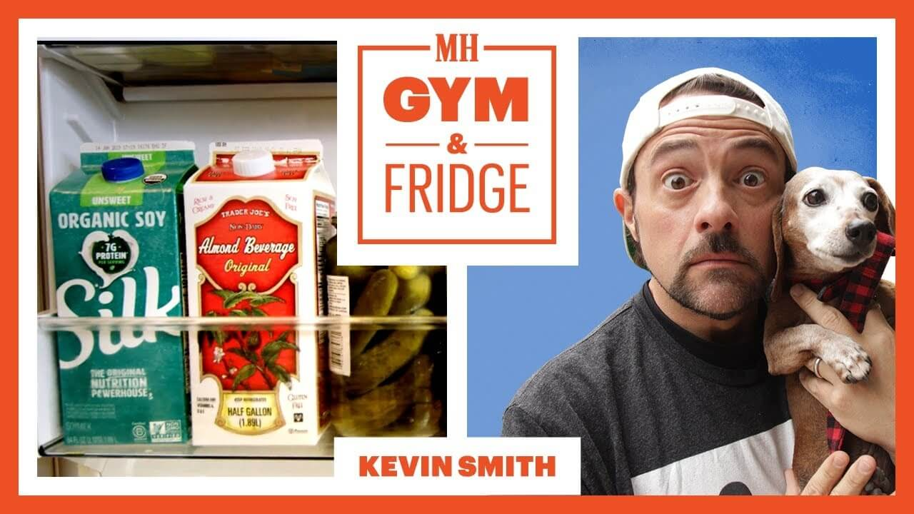 This Is What Kevin Smith's Vegan Fridge Looks Like