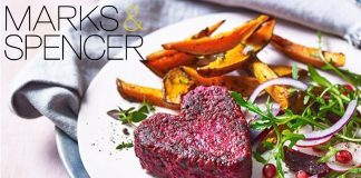 Vegan Heart 'Beet' Burgers Launch at Marks & Spencers