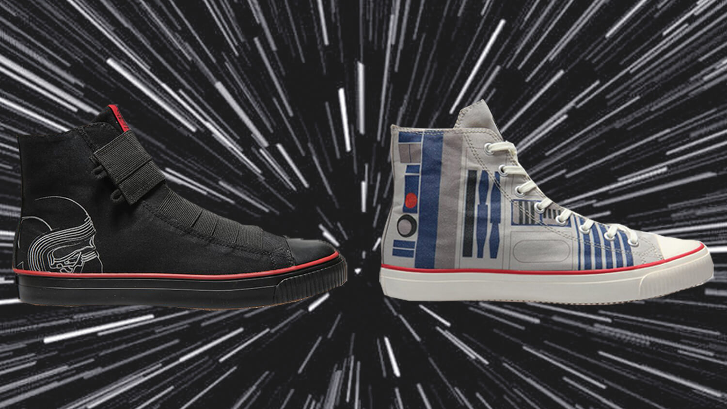Po-Zu Just Launched a Vegan Star Wars Shoe Line