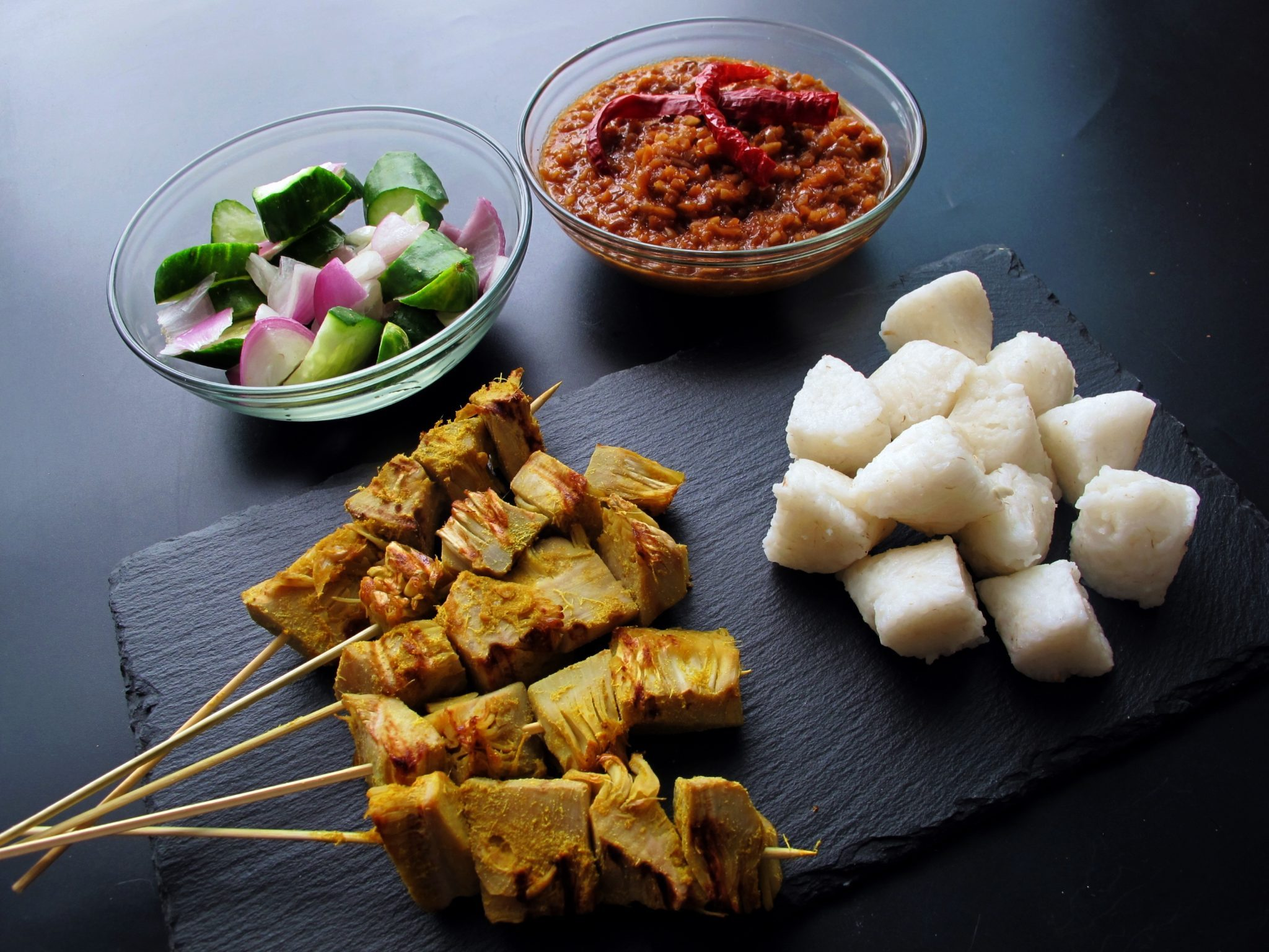 Vegan Jackfruit Satay Skewers Are Here to Spice Up Your Life