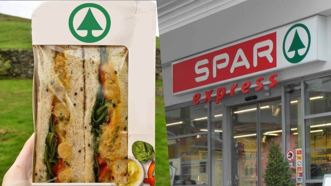 Vegan Coronation Chickpea Sandwiches Launch at Spar Supermarket