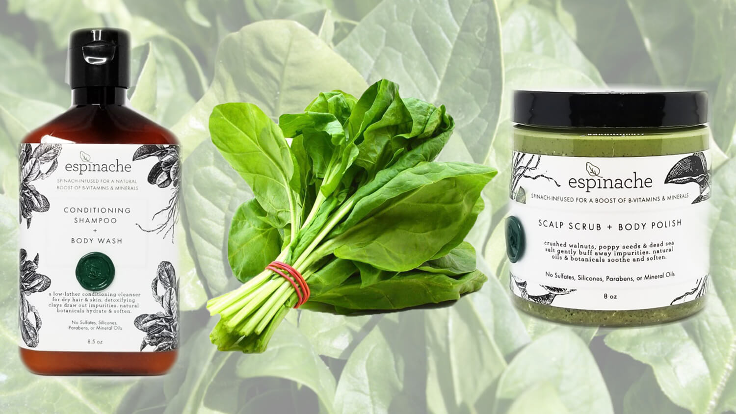 There Is Spinach In Every One of These Beauty Products