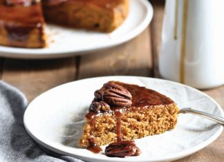 This Vegan Toffee and Pecan Cake Is So Simple to Make