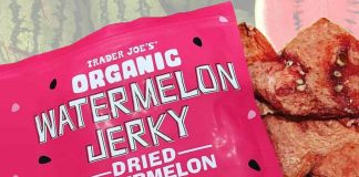 Trader Joe's Launches Vegan Jerky Made Out of Watermelon