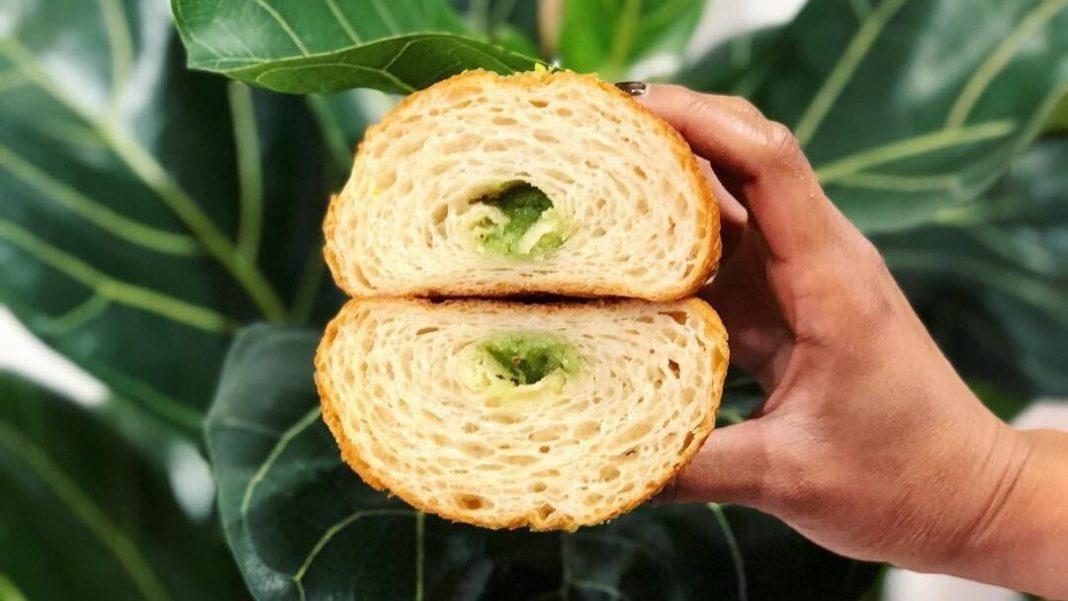 This London Cafe Sells Vegan CBD Stuffed Croissants