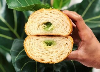 This London Cafe Sells Vegan CBD Stuffed Croissants