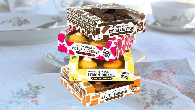 New Vegan Cake Bites Launching in UK Supermarkets