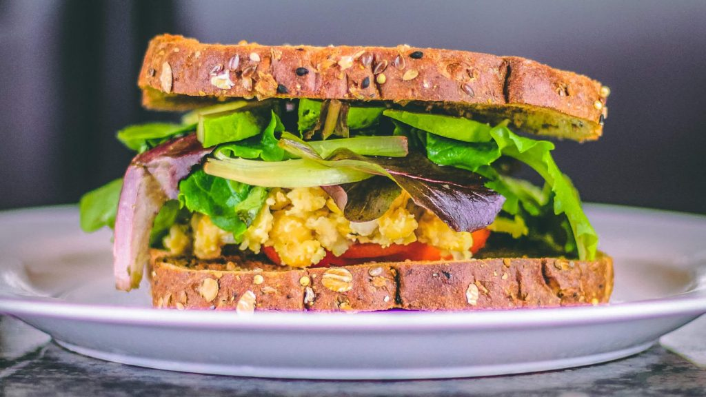 Now You Can Have Vegan Salad and Chickpea Protein All-In-One