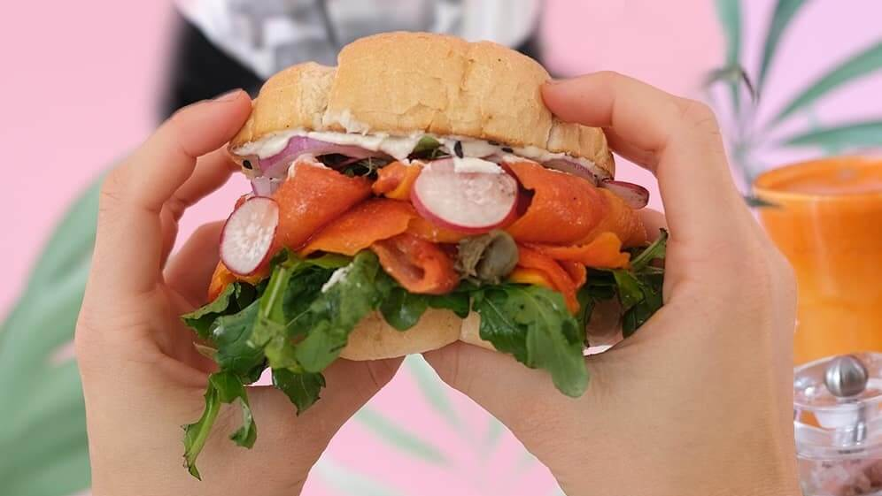 This Vegan Lox Is Made Entirely Out of Papaya