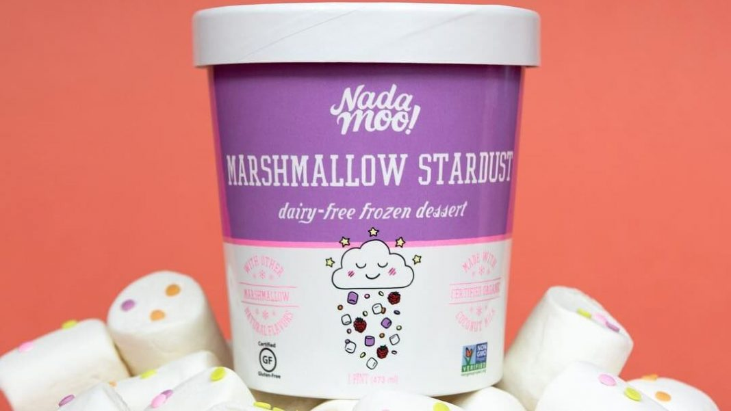 New Vegan Marshmallows Stardust Ice Cream Is Out Of This World Livekindly