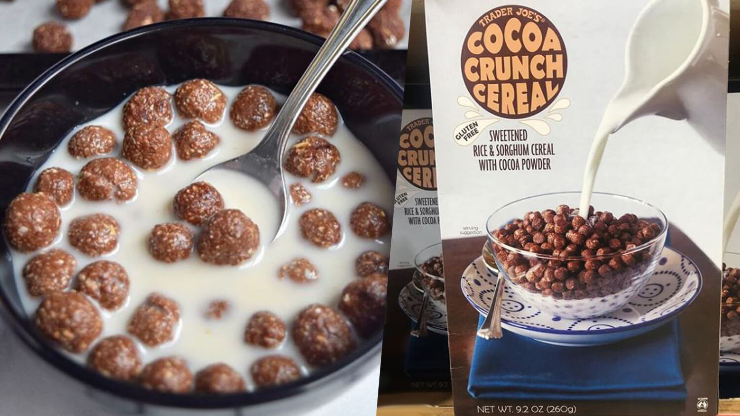 Trader Joe's Will Make You Cuckoo for Vegan Cocoa Puffs