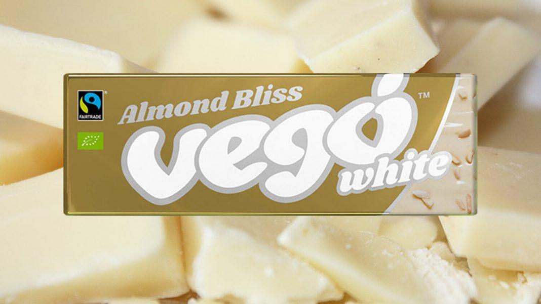 The New Vegan Vego White Chocolate Bar Is Pure Magic