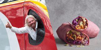 Vegan Wrap Sandwiches Now on Virgin Trains