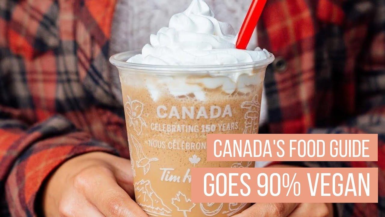 CANADA FOOD GUIDE Goes 90% Vegan