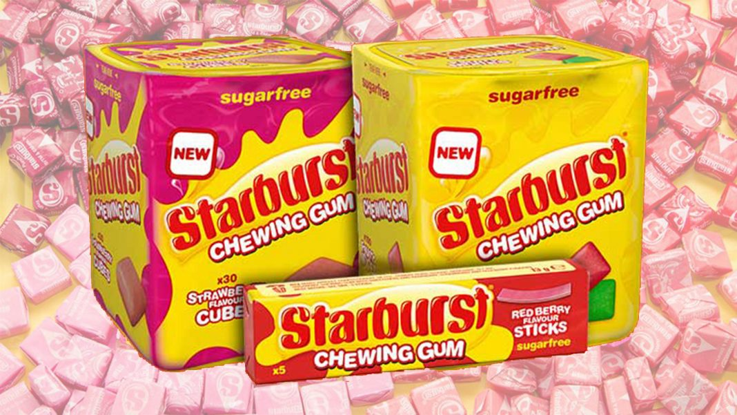 Vegan Strawberry Starburst Gum Is a Thing