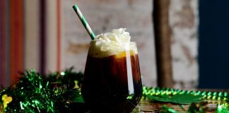 Vegan Iced Irish Coffee With Dairy-Free Cream