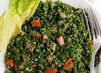 Gluten-Free Vegan Tabbouleh With Cauliflower Couscous