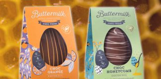 Vegan 'Honeycomb' Easter Eggs Now At Sainsbury's