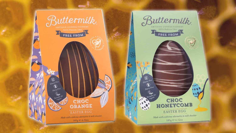 Vegan 'Honeycomb' Easter Eggs Now At Sainsbury's