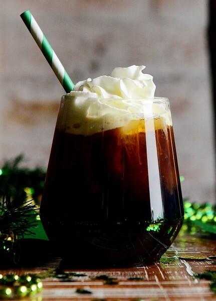 Vegan Iced Irish Coffee With Dairy-Free Cream