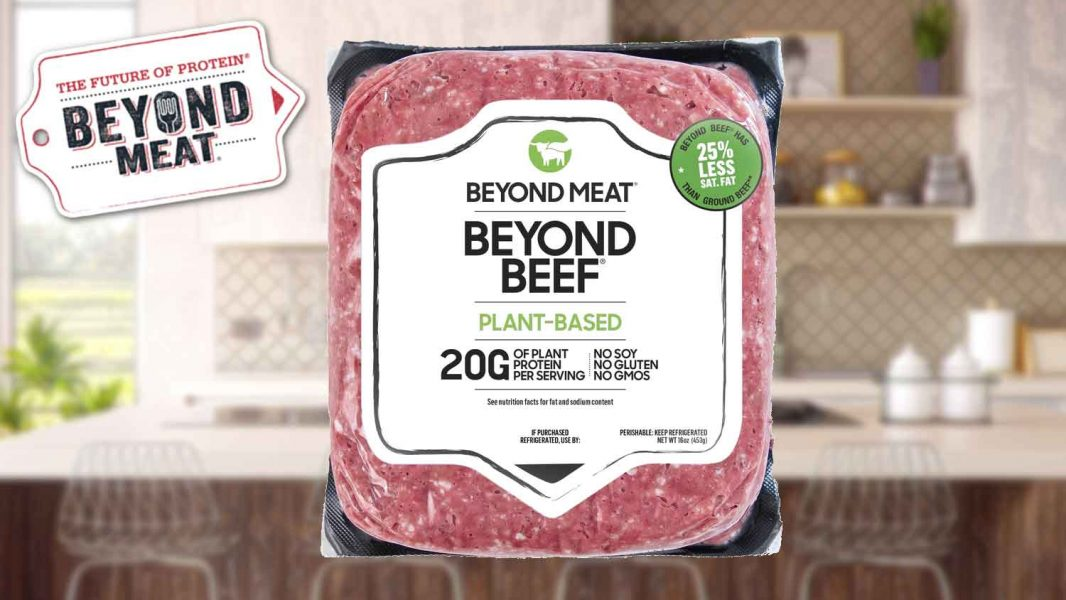 Beyond Meat's Vegan Ground Beef Launches In Whole Foods Market