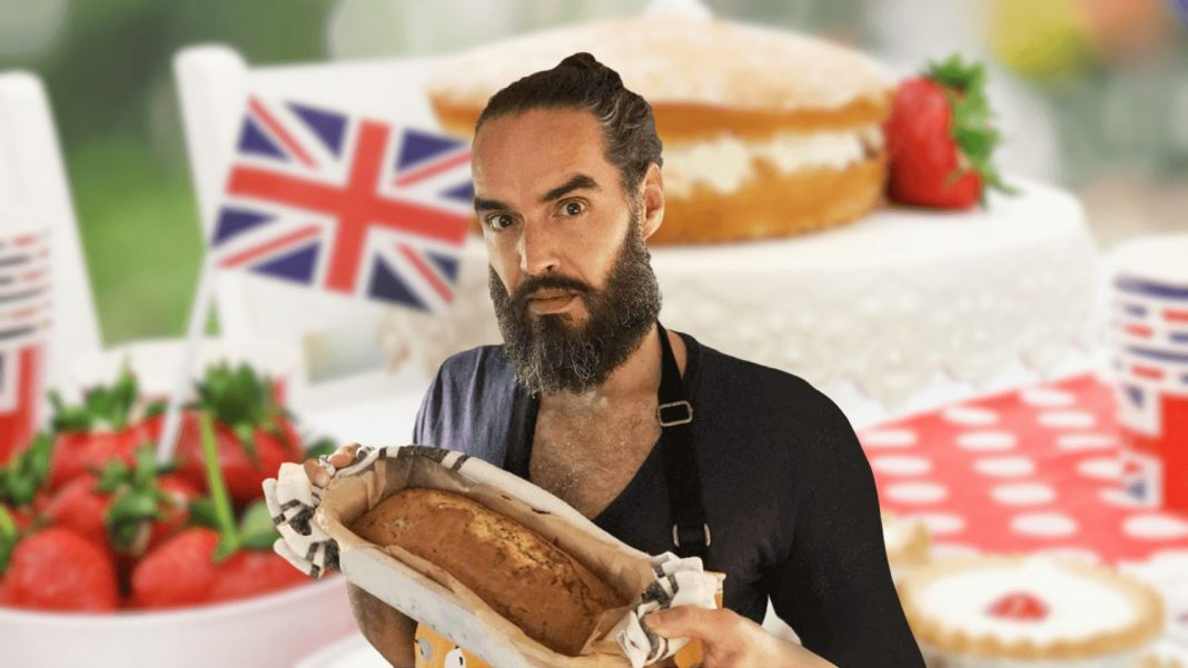 Russell Brand Is Loving Vegan Baking After Appearing on GBBO