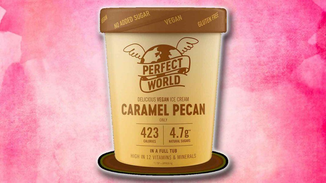 Tesco Has Dairy-Free Caramel Pecan Ice Cream