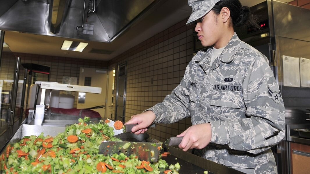 Soldiers Can Eat Vegan All Day at This Military Base