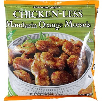 Trader Joe's Vegan Chicken-Less Mandarin Orange Morsels