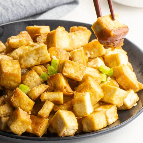 Air-Fried Vegan Tofu Is Here for Every Recipe