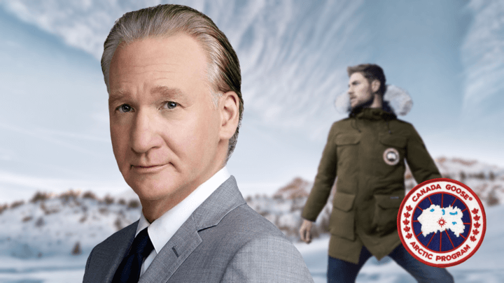 This is What Bill Maher Thinks Of Your Down Jacket