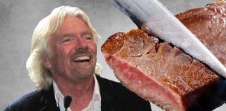 Richard Branson Wants to Change the Way You Think About and Eat Meat