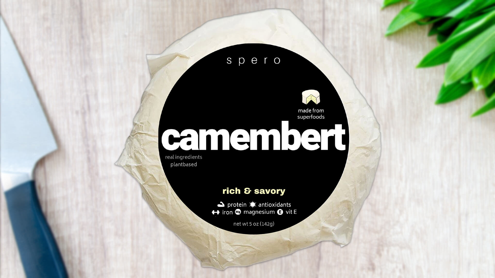 This Vegan Camembert Cheese Is Made From Sunflowers