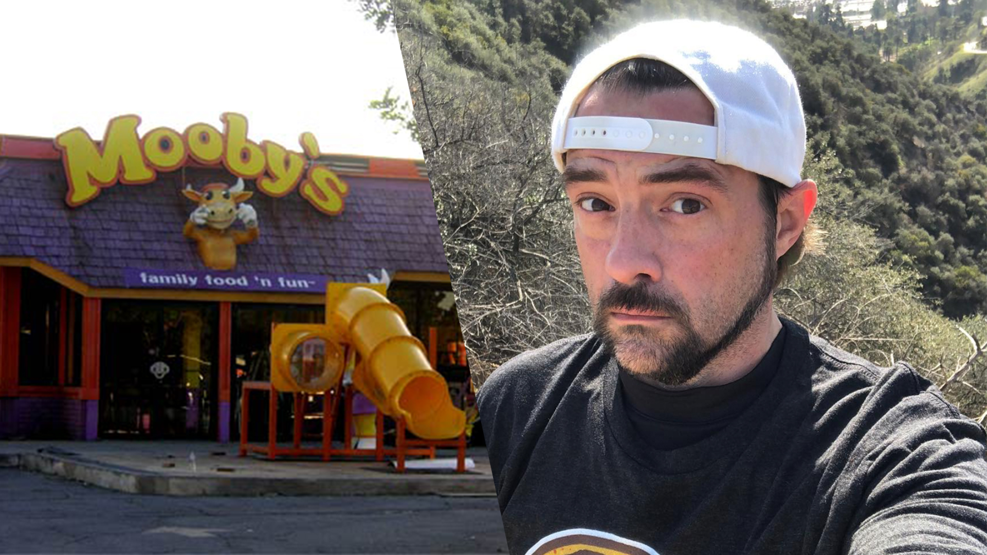 Kevin Smith Wants a Rich Investor to Open a Vegan 'Mooby's'