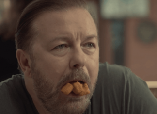 Ricky Gervais Eats Vegan Fish Fingers in New Series 'After Life'