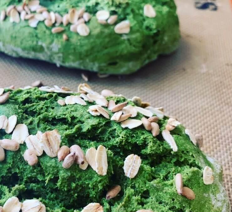 Vegan Soda Bread With a Hidden Helping of Leafy Greens