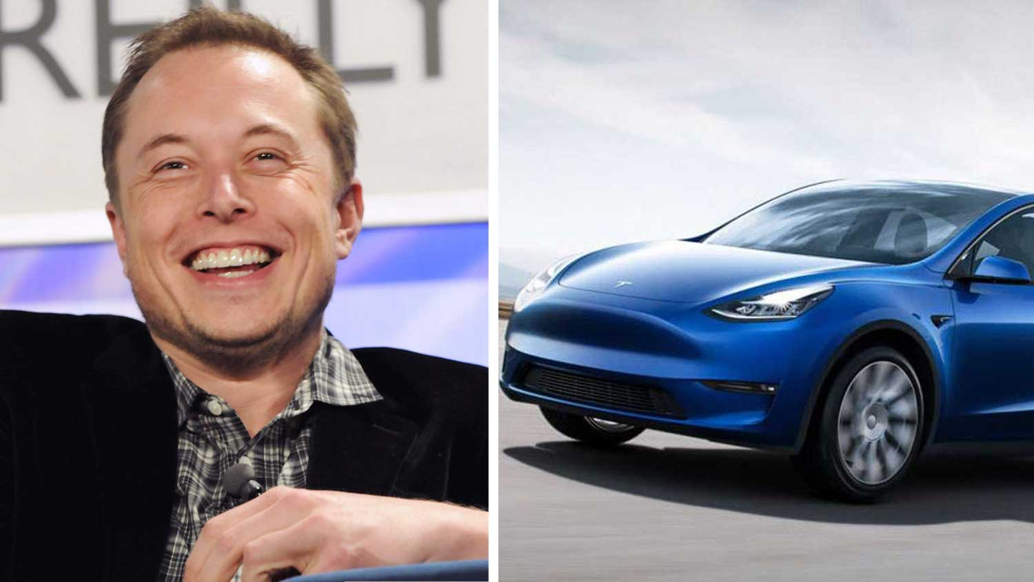 Musk Calls the New Leather-Free Tesla Model Y 'Sexy'