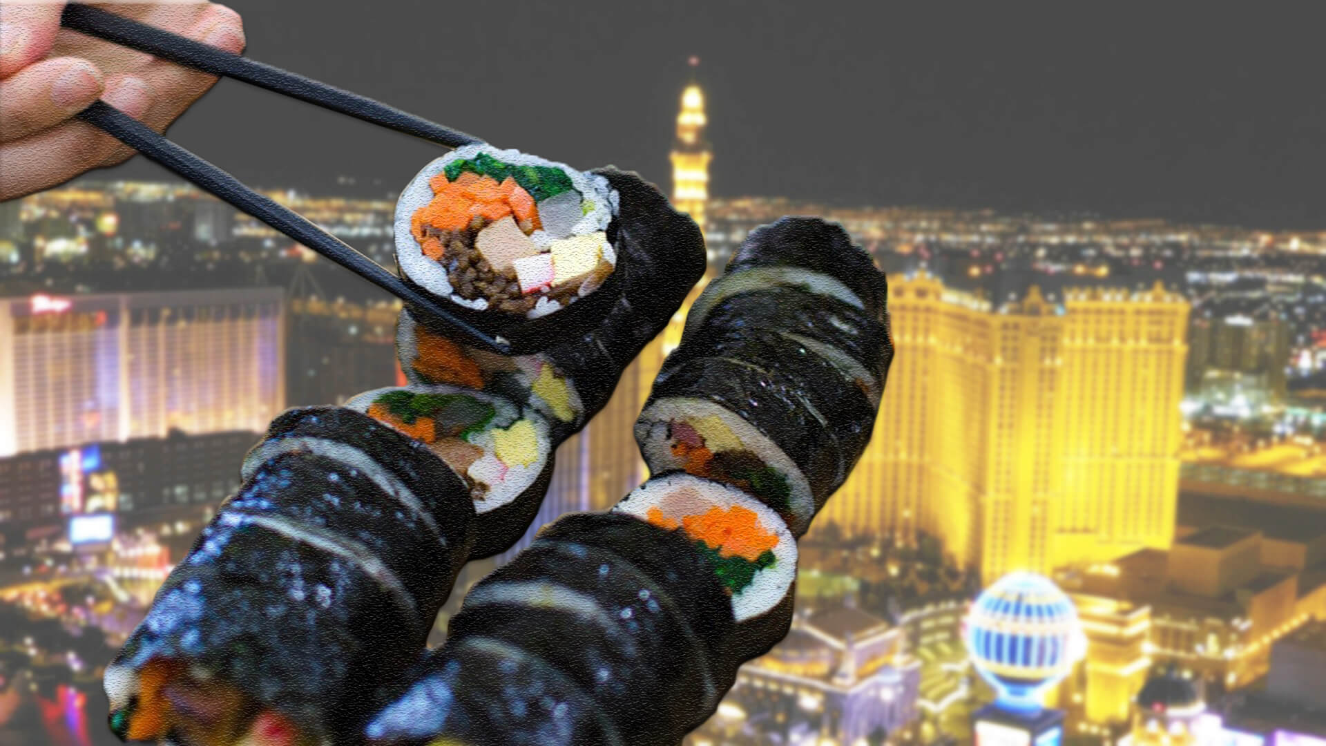 Las Vegas Now Has All-You-Can-Eat Vegan Sushi