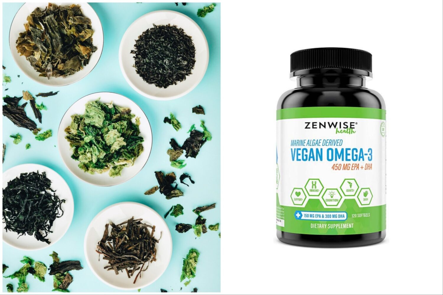 The 9 best vegan omega-3 food sources with the highest fatty acid content