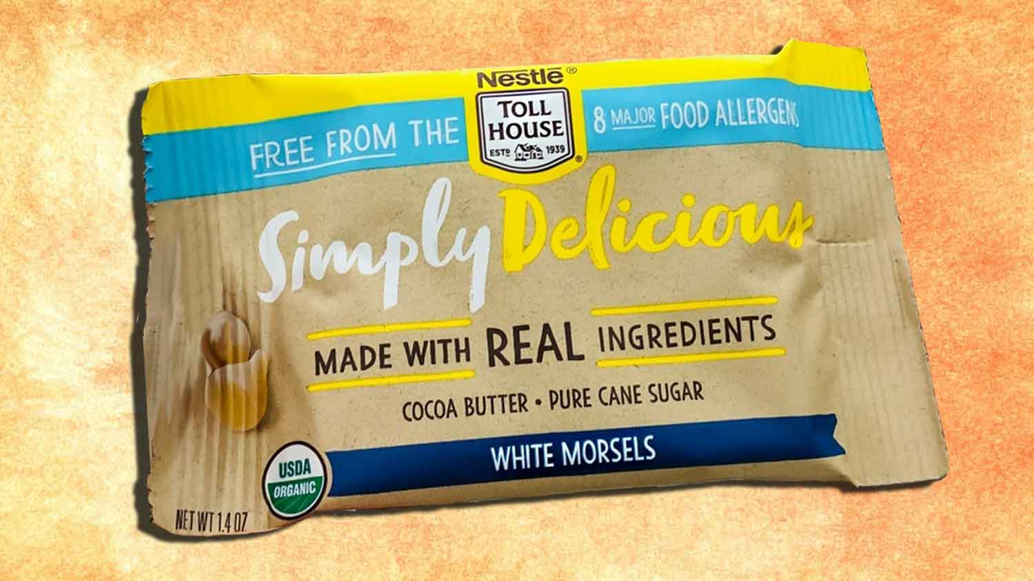 New Vegan White Chocolate Chips From Nestlé Toll House Have Arrived