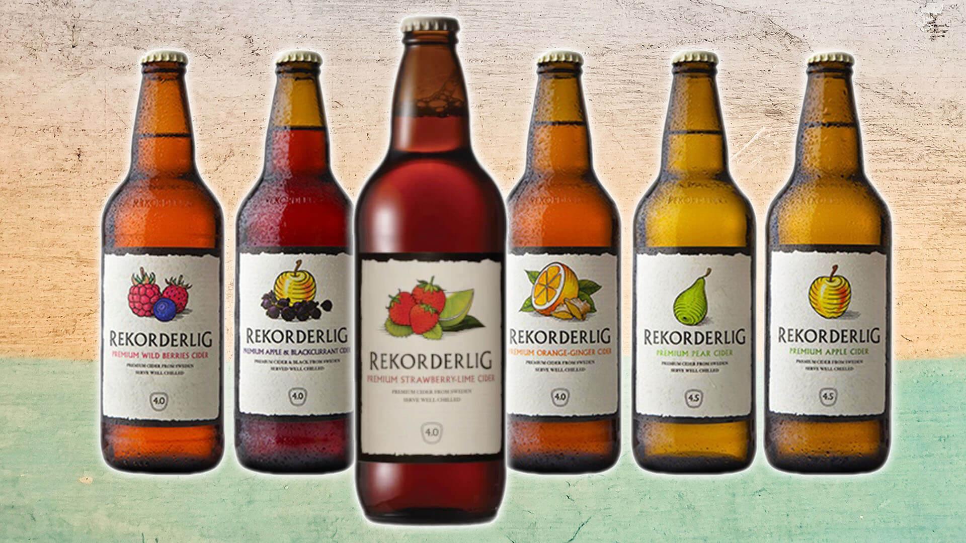 Rekorderlig Announces Its Ciders Are Now Vegan