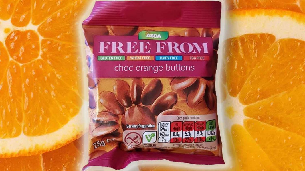 Asda Now Has Vegan Orange Chocolate Buttons