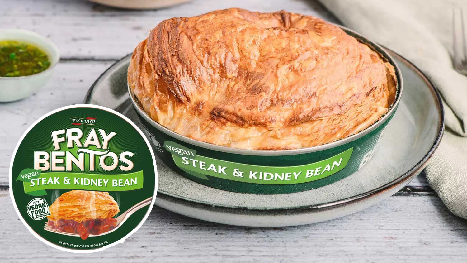 Fray Bentos Just Launched Vegan Steak and Kidney Pies